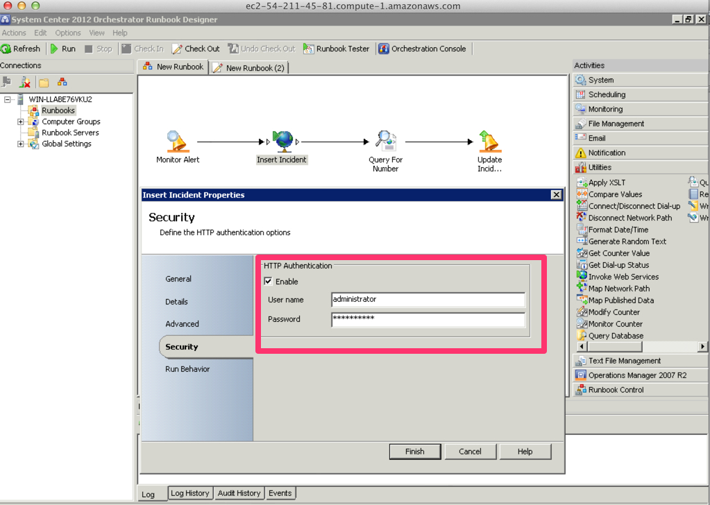 SCOM 2012 - Consuming ServiceNow Web Services with Microsoft